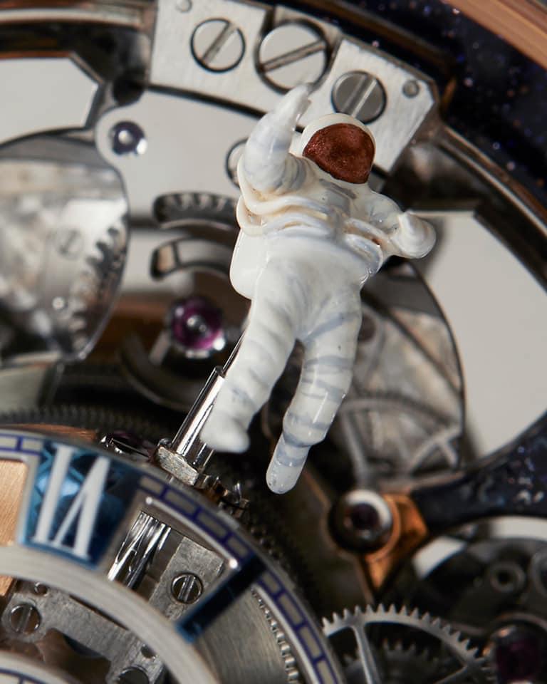 Jacob & Co Astronomia Maestro 2019 watch - astronaut details