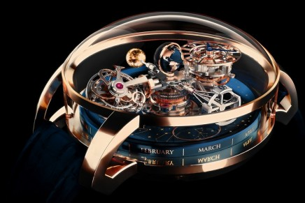 Captivating watch complications: Jacob & Co. Astronomia Sky with celestial display in three dimensions