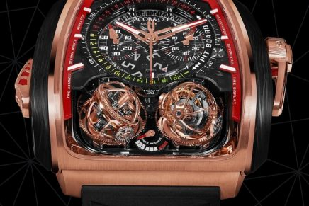 Twin Turbo Furious: This beast of a watch features a staggering combination of complications