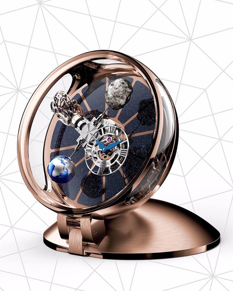 Jacob&co -The Astronomia Tableclock 2019