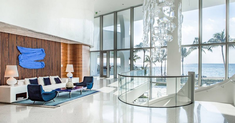 Jade Signature Lobby with pieces by Hermés and exclusive items by Pierre-Yves Rochon Inc
