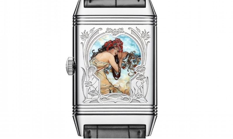 Jaeger-LeCoultre Reverso dedicated to Alfons Mucha