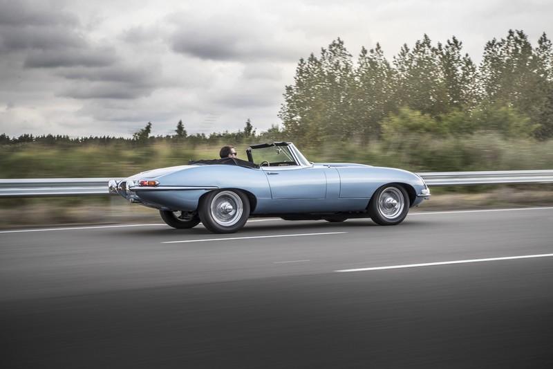 Jaguar E-Type Electric 2017