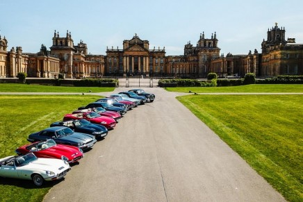 Blenheim Palace to welcome over 800 Jaguars from all eras