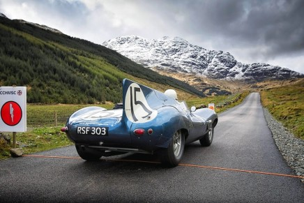 First 'Mini Miglia' Rally staged in Scotland. Jaguar announces Star-studded Driver Line-up for Mille Miglia 2015