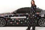 FEEL XE Experience in Paris: Stella McCartney adapts the playful Superhero print for the Jaguar XE