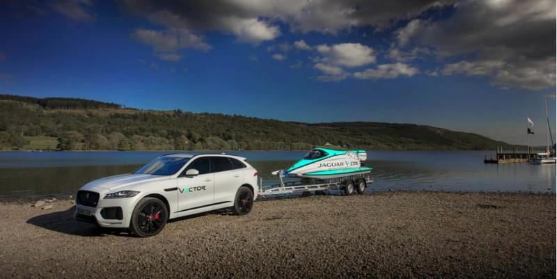 Jaguar Vector V20E Break World Electric Speed Record-