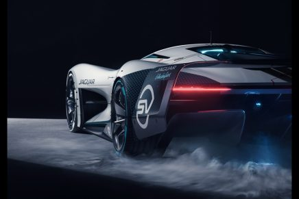 Jaguar Vision Gran Turismo SV is built in the real-world as full-scale design study