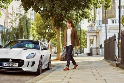 Jaguar's formal driving shoes