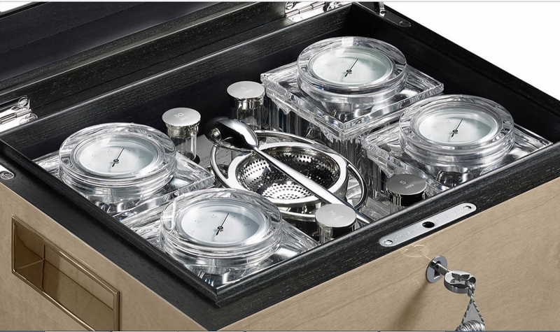 Jaipur dusk tea humidor from the Indus Collection-