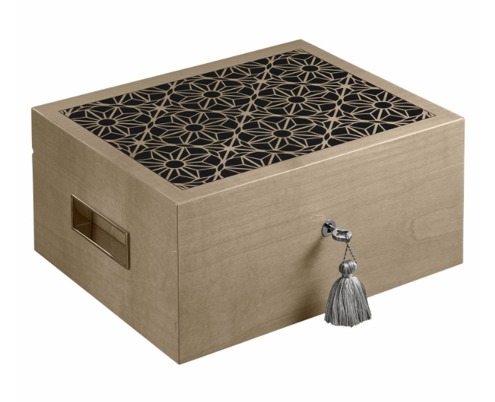 Jaipur dusk tea humidor from the Indus Collection