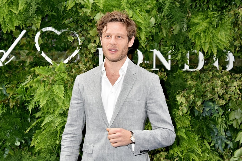 James Norton attending Chopard boutique opening in London.