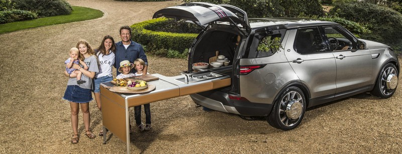 Jamie Oliver Discovery car-