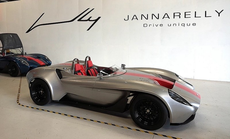 Jannarelly Design-1 sports car is designed for pure driving pleasure-