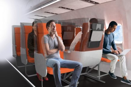 The aircraft seats of the near future