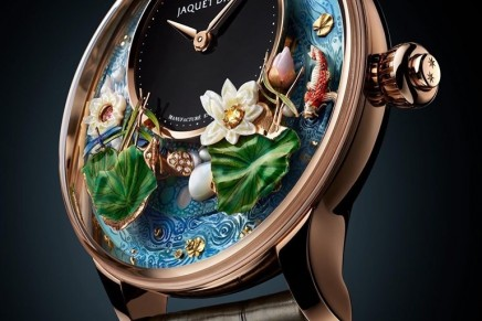 Jaquet Droz's Magic Lotus Automaton features an exceptionally long animation