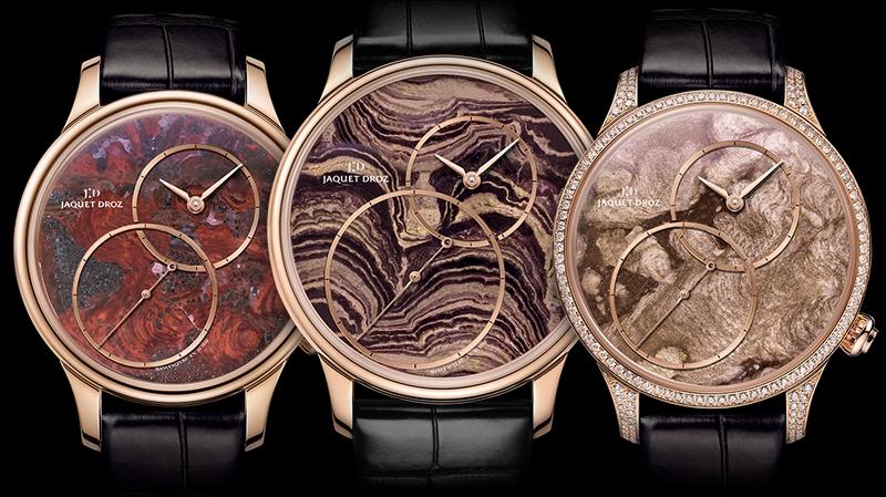Jaquet Droz Grande Seconde Off-Centered timepiece variations 2018-