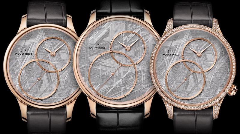 Jaquet Droz Grande Seconde Off-Centered timepiece variations 2018-01