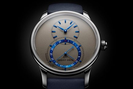 Jaquet Droz Grande Seconde Quantième: Everything, or almost everything, has been given a second look