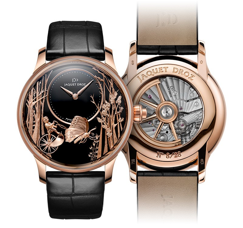 Jaquet Droz - Loving Butterfly Automaton watch