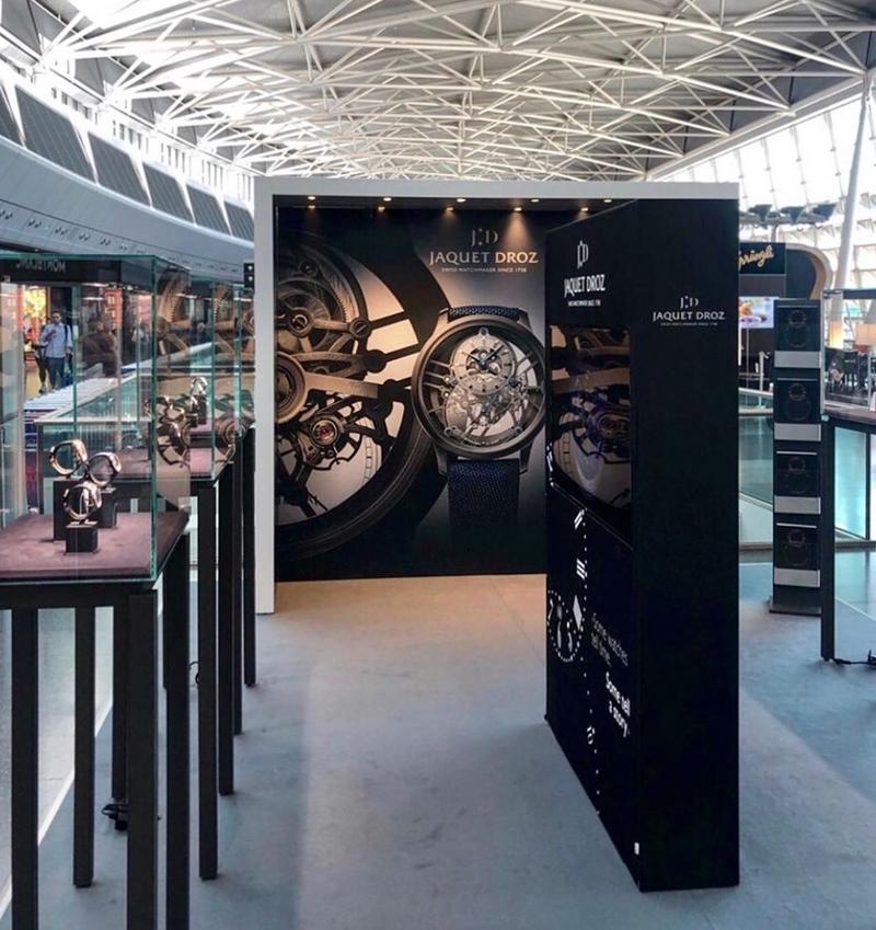 Jaquet Droz at Zurich Airport