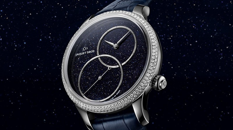 Jaquet Droz is presenting its iconic Grande Seconde Off-Centered model in four versions with a diameter of 39 mm