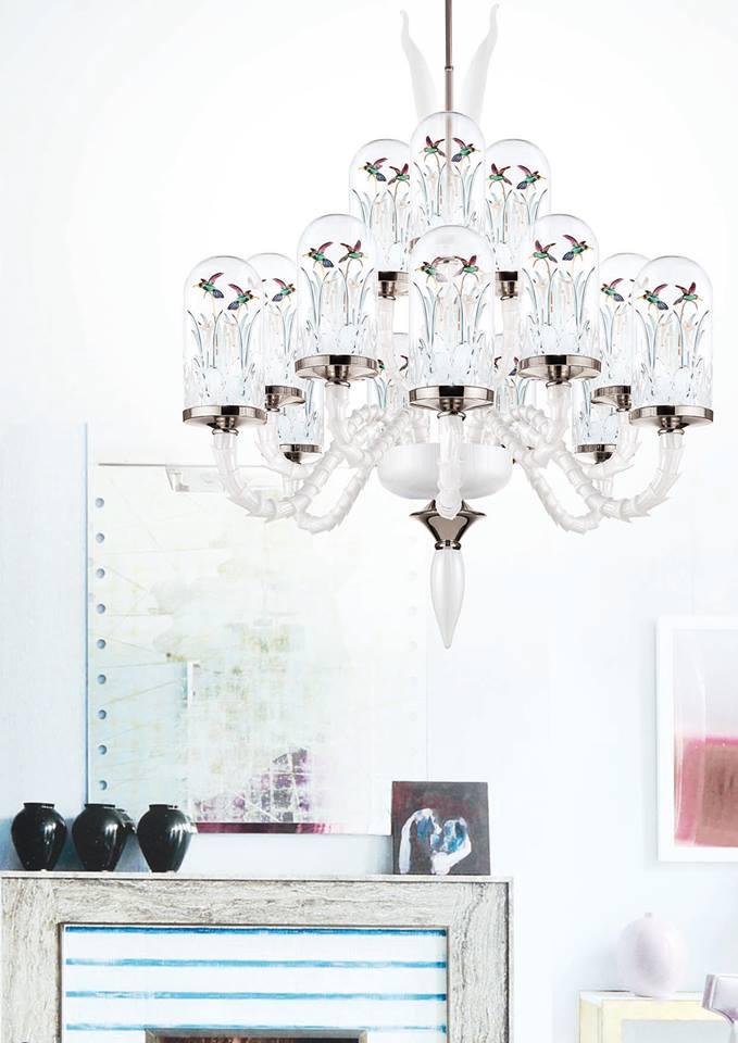 Jardin de Verre - Chandelier S18 Led lighting-