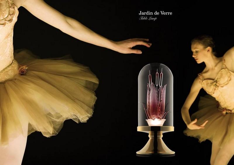 Jardin de Verre - Table Lamp