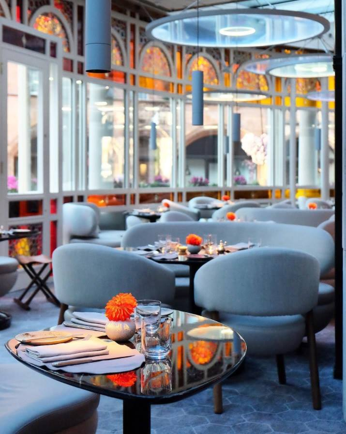 Jean-Georges at The Connaught - design
