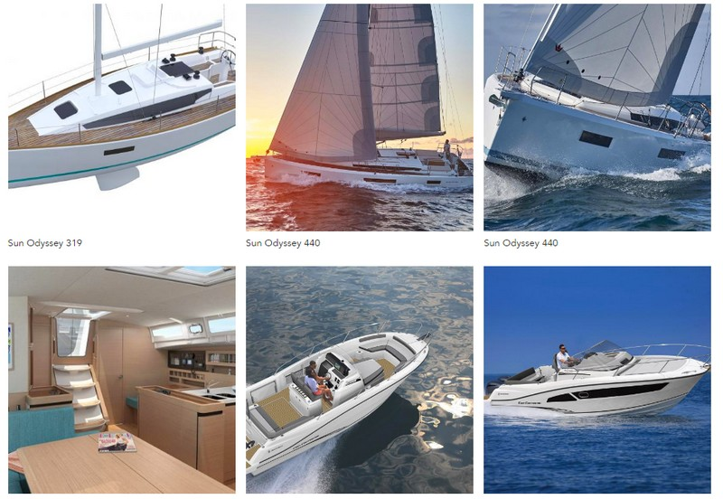 Jeanneau Sailboats and Powerboats New 2018 models
