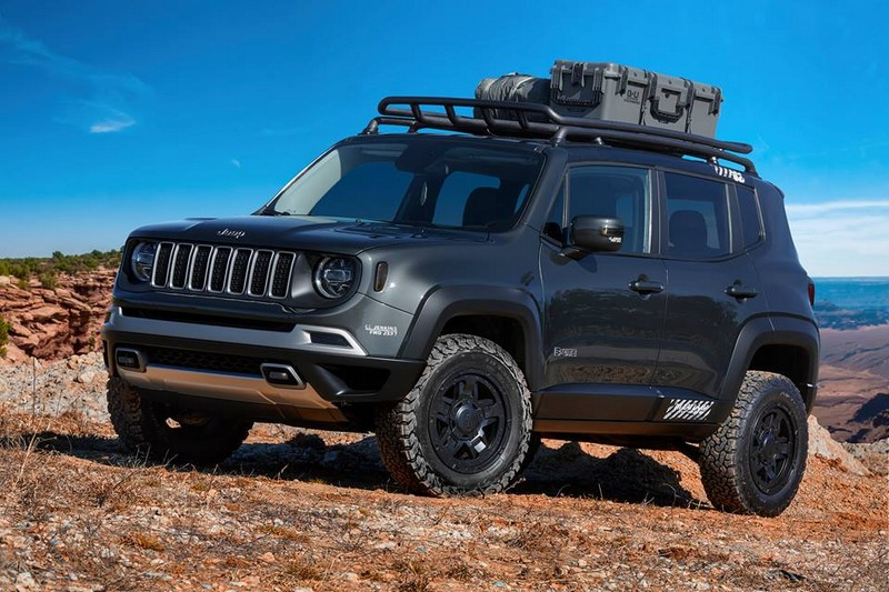 Jeep B-Ute designed to be off-road ready with practical utility