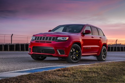 The new 707-horsepower Trackhawk is now the most powerful and quickest SUV