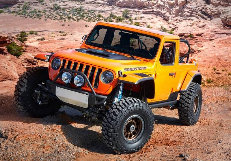Jeep Sandstorm - a Baja runner built for high-speed desert blitzing