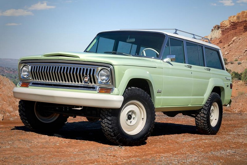 Jeep Wagoneer Roadtrip - luxury heritage design, rich in history and capable of tackling any terrain