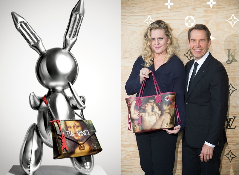 Jeff Koons for Louis Vuitton