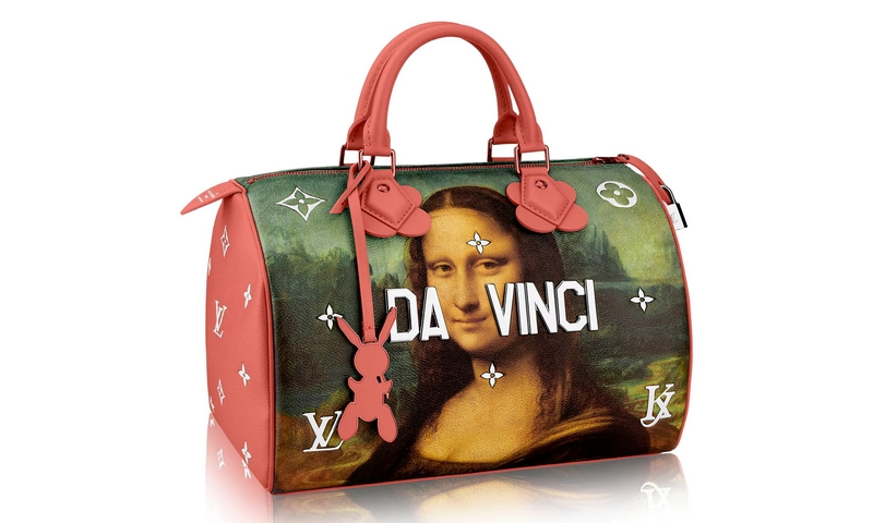 Jeff Koons's MastersS Speedy 30 bag for Louis Vuitton