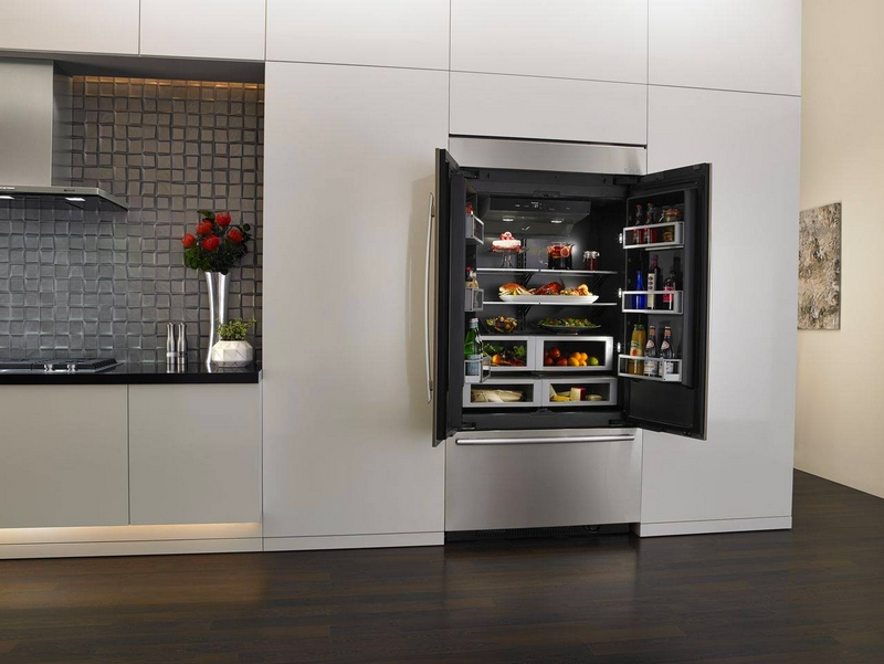 jenn air refrigerator with obsidian interior 2luxury2 com
