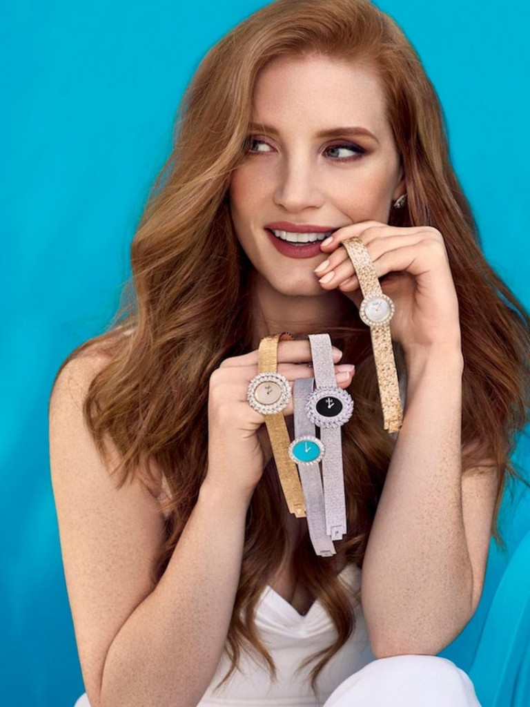 Jessica Chastain launches the new Piaget Extremely Lady collection