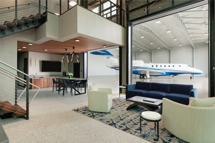 Inside the new Jet Linx Minneapolis private terminal – the newly-constructed hub at Flying Cloud Airport