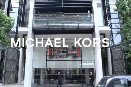 Jet-set lifestyle: Michael Kors x McLaren-Honda Racing