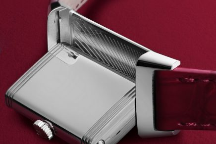The new Reverso One Red-Wine is celebrating the colour of love and positive energy