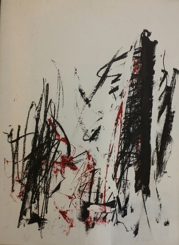Joan MITCHELL - COMPOSITION