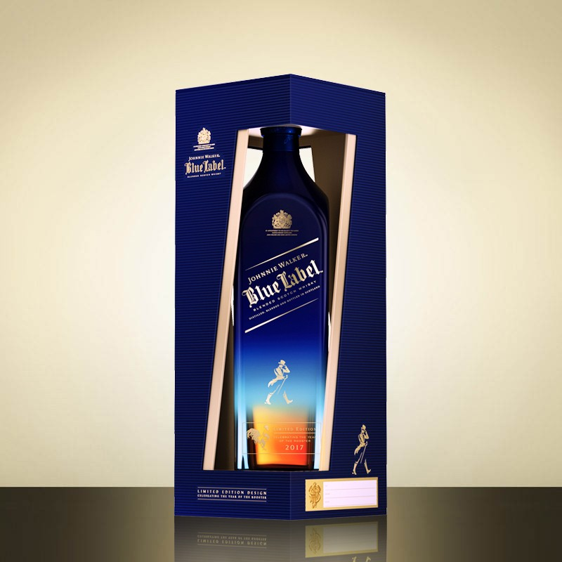 Johnnie Walker Blue Label Year of the Rooster bottle-