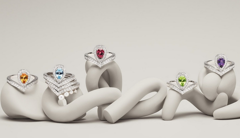 Joséphine Aigrette rings collection