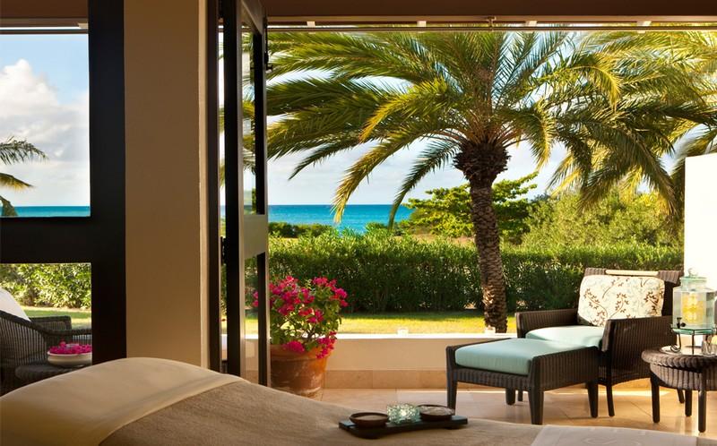 Jumby Bay Island, Antigua and Barbuda -spa treatment room