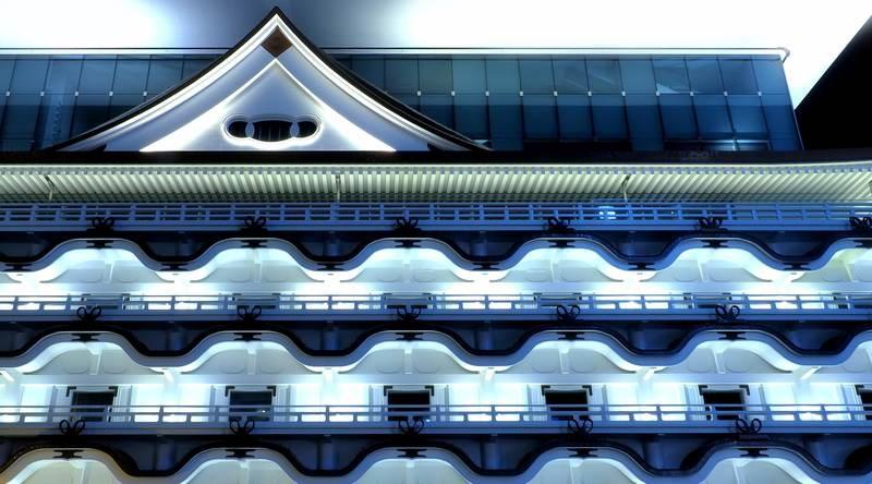Karahafu style roof - Hotel Royal Classic Osaka Celebrates Grand Opening