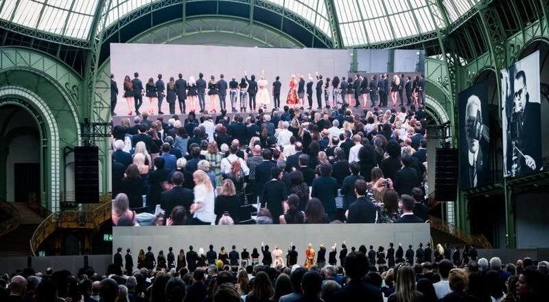 Karl For Ever tribute to the exceptional couturier at the Grand Palais in Paris 2019-