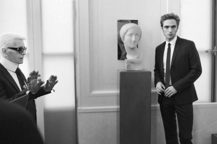 """Never before shown images at """"Karl Lagerfeld-Visions of Fashion"""" @ Palazzo Pitti"""