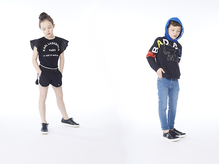 Karl Lagerfeld kids' collection for the 2020SS