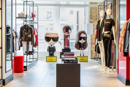 Between classic and cool: Karl Lagerfeld x Kaia